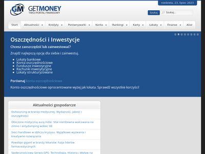 Get-Money.pl - duży wybór pożyczek gotówkowych