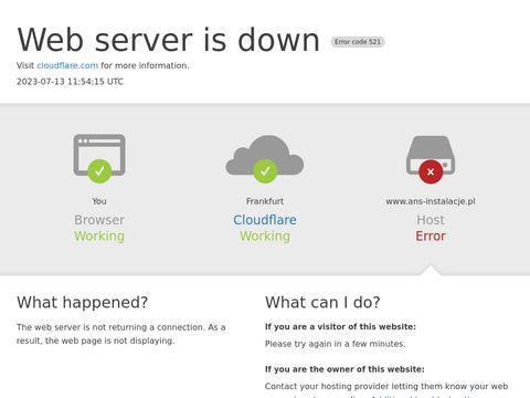 ANS Instalacje - ekran do biura i domu
