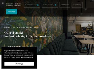 Strona domowa Hotelu Alexander