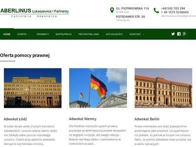 Adwokat Niemcy na aberlinus.eu