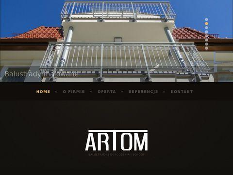 Artom24.pl schody stalowe Wejherowo, Gdynia