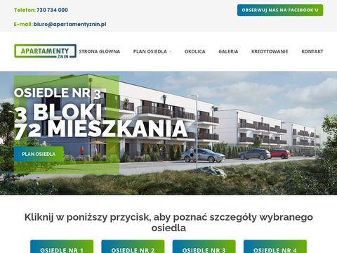 Apartamentyznin.pl nowe osiedle
