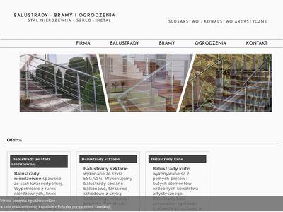 Balustradka.pl - balustrady i ogrodzenia metalowe