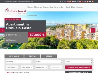 Costainvest.com - wille w Hiszpanii