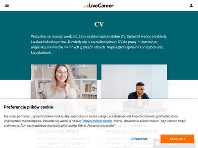 Wzory CV, artykuły i wskazówki - cvnet.pl
