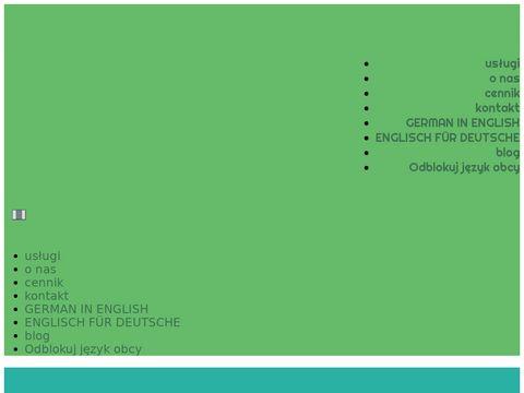 Linguaboutique.pl angielski online