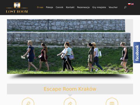 LostRoom.pl - escape room
