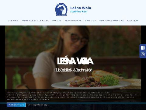 Stadnina koni Leśna Wola