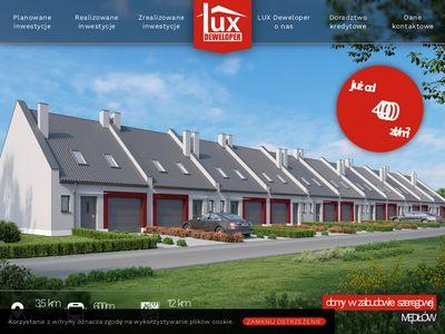 Luxdeweloper - domy Kąty Wrocławskie