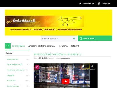 Sklep modelarski mojswiatmodeli.pl kolejki