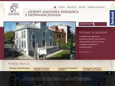 Maxus - administrowanie nieruchomościami Kraków