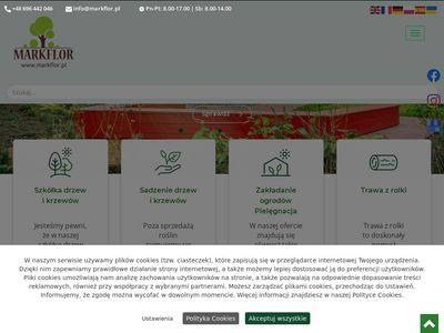 Markflor szkółka drzew i krzewów Kraków
