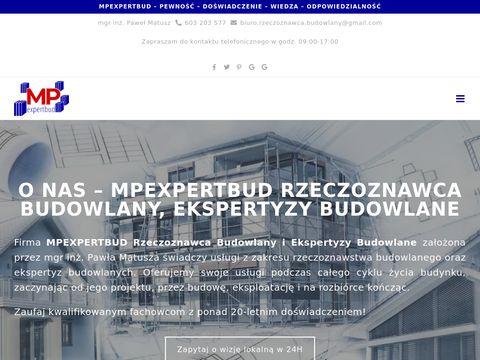 Mpexpertbud.pl - ekspertyzy budowlane Warszawa