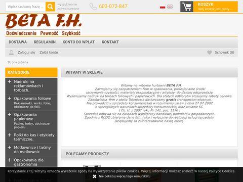 Beta FH opakowania i środki czystości Gdańsk