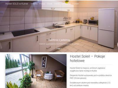 Hostelsoleil.pl - pokoje w Kutnie