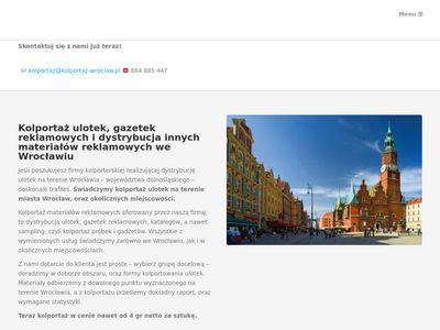 Kolportaż Wrocław
