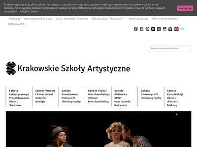Ksa.edu.pl jaki kierunek studiów wybrać na projektanta