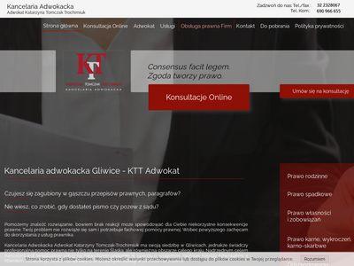 Prawnik Gliwice - ktt-adwokat.pl