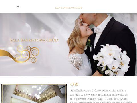 Gród wesele Nowy Sącz