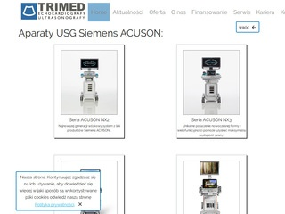 Ultrasonografy - Trimed.pl
