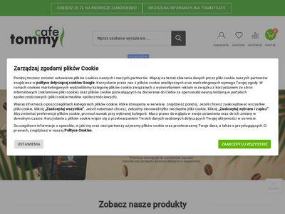 Tommycafe.pl - kawa i herbata w dobrej cenie