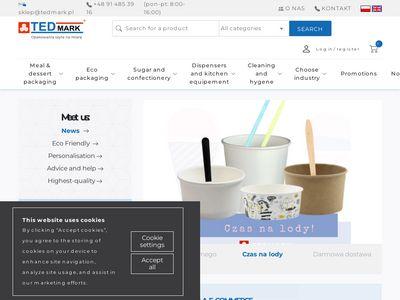 Tedmark.pl - pojemniki papierowe