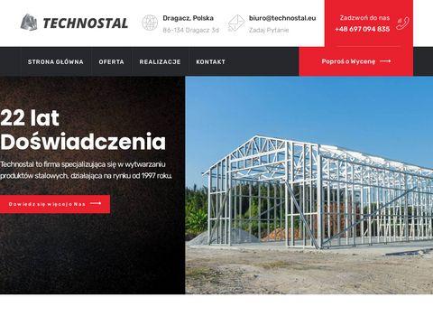 PPH Technostal - hale namiotowe