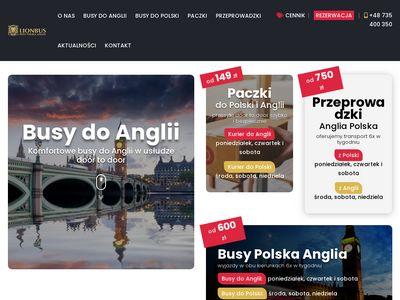 Lionbus - tanie busy do Anglii