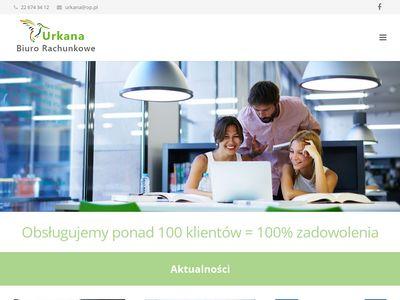 Urkana.com.pl biuro rachunkowe Warszawa Bródno