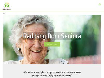 Radosny Dom Seniora prywatny dom opieki