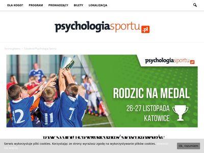 Z psychologii sportu szkolenia