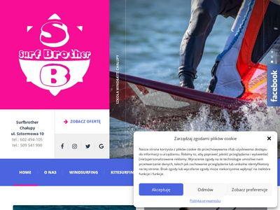 Surfbrother.com.pl szkoła windsurfingu, nauka