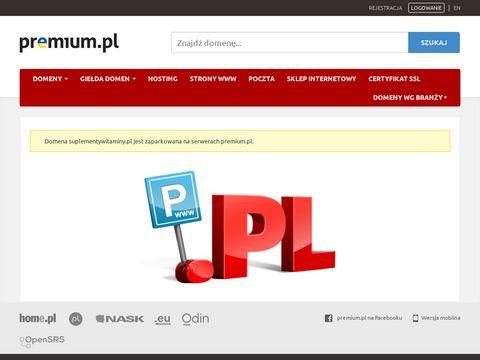 Witaminy gwarancją zdrowia