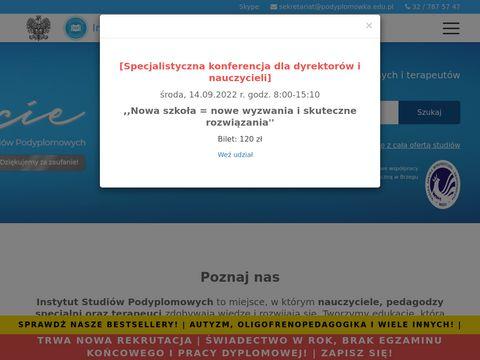 Studia podyplomowe Śląsk - ISP