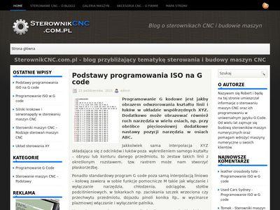 Sterowanie numeryczne - sterownikcnc.com.pl