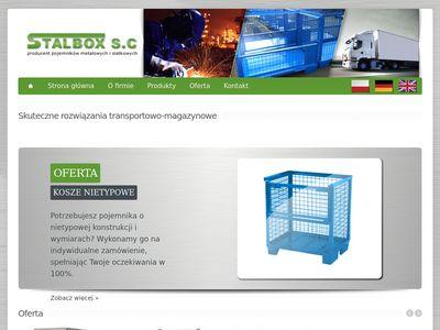 Stalbox S.C - pojemnik siatkowy gitterbox