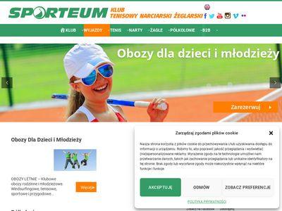 Sporteum.pl - tenis dla dzieci