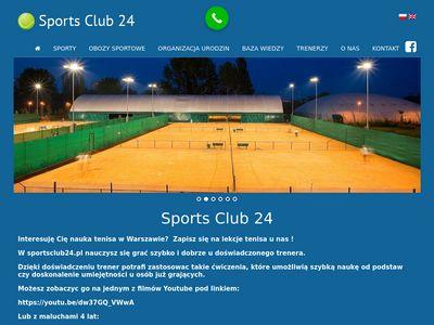 Sportsclub24.pl trener tenisa