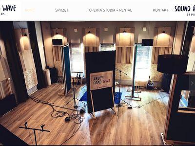 Soundandwave.pl profesjonalne studio nagrań
