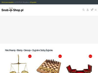 Zegary słoneczne - Snob Shop