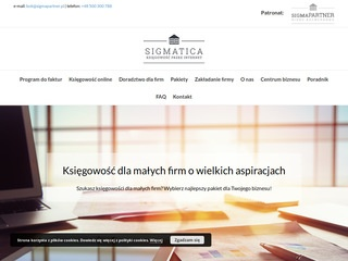 Sigmatica.pl - biuro rachunkowe online