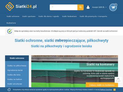 Siatki24.pl na piłkochwyty