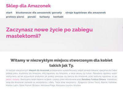 Sklepamazonka.pl biustonosz amazonki
