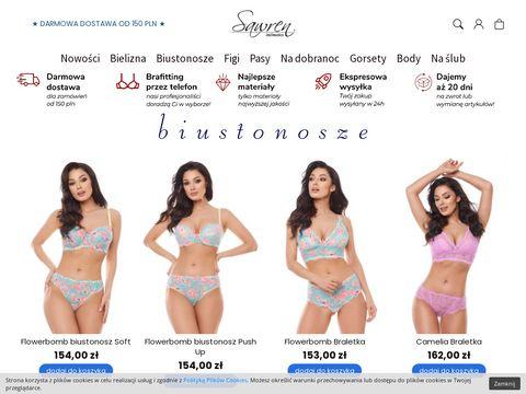 Sawren.pl - sklep internetowy z bielizną