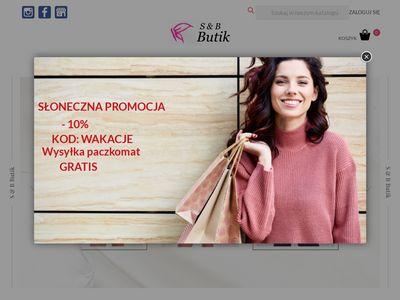 Sbbutik.pl włoskie bluzki damskie