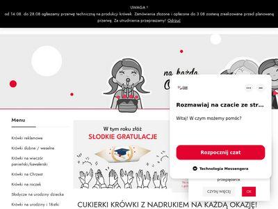 Cukierki ślubne - pyszne-krowki.pl