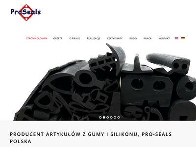 Proseals.pl - uszczelki gumowe