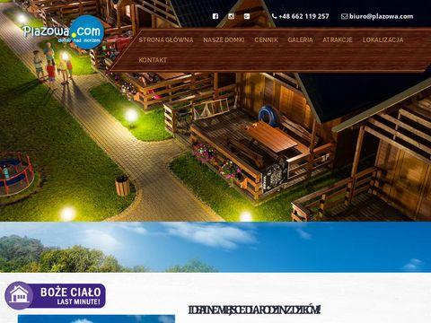Plazowa.com - domki letniskowe Mielenko