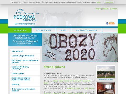 Jazda konna Poznań - zabawa, atrakcja