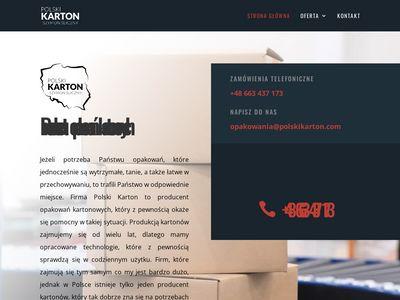 Polskikarton.com - producent opakowań kartonowych